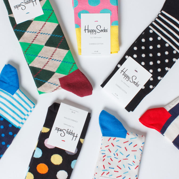 20% Off Regular-Priced Styles @Happy Socks, Dealmoon Exclusive