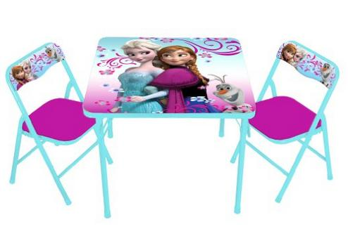 Disney Frozen Erasable Activity Table Set with 3 Markers