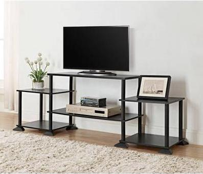 $19.88 Mainstays No Tools 3-Cube Storage Entertainment Center for TVs up to 40