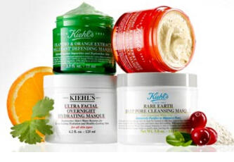 2 Free Deluxe Samples When Your Purchase a Masque or Masque Set @Kiehl's