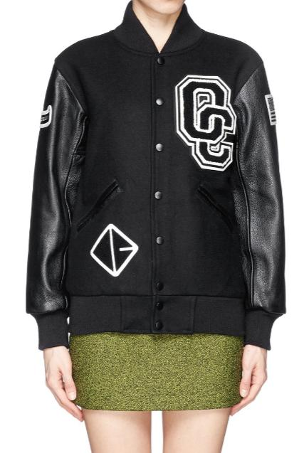$395+$25GC OPENING CEREMONY Varsity Jacket @ Barneys New York
