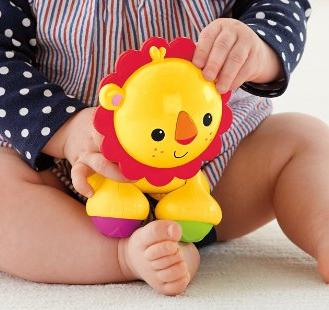 $4.38 Fisher-Price Lion Clicker Pal @ Amazon