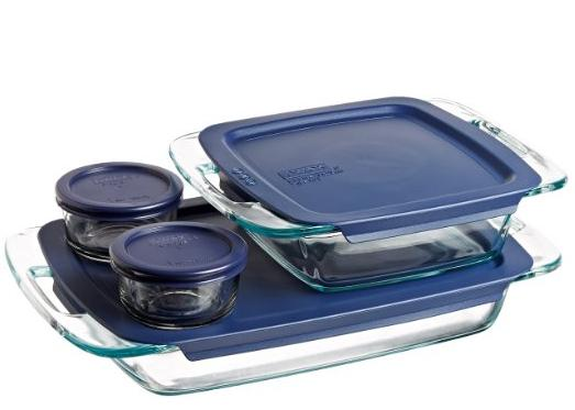 $14.19 Pyrex Easy Grab 8-Piece Glass Bakeware and Food Storage Set @ Amazon