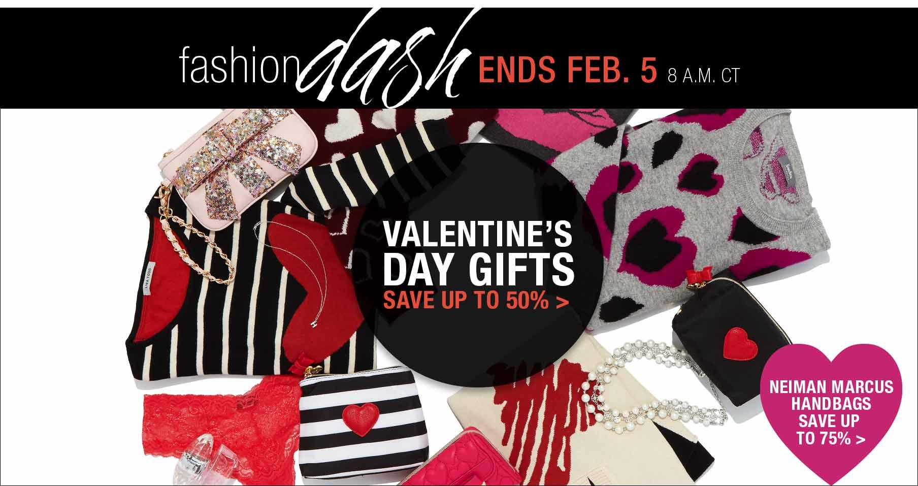 Up to 50% Off VALENTINE'S DAY Gifts in Fashion Dash at LastCall by Neiman Marcus