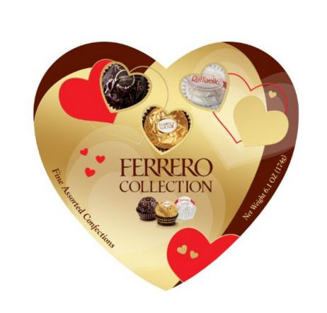$9.42 Ferrero Collection Heart, 16 Count