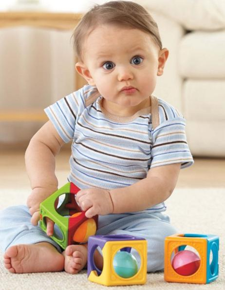 Fisher-Price Easy Stack 'n Sounds Blocks @ Amazon