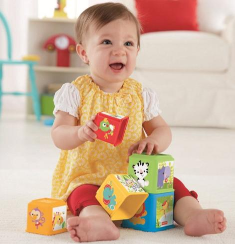 Fisher-Price Stack and Explore Blocks @ Amazon