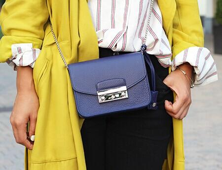 $228 FURLA Metropolis Mini Crossbody Bag @ FORZIERI