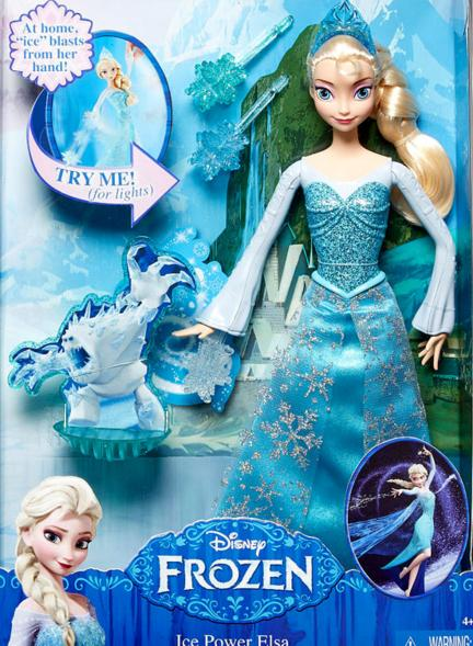 Disney Frozen Ice Power Elsa Doll @ Amazon