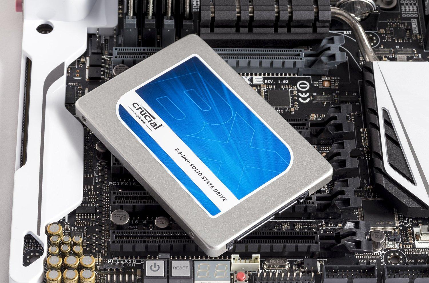 $64.00 Crucial BX100 250GB SATA 2.5 Inch Internal Solid State Drive