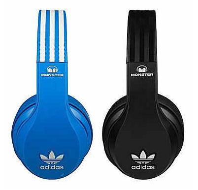 $89.99 Monster Adidas Originals Over-Ear Headphones UCT Blue or Black
