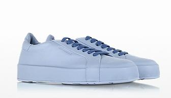 JIL SANDER Leather Sneaker @ FORZIERI