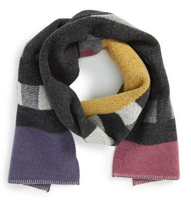 Burberry Check Wool & Cashmere Blanket Scarf @ Nordstrom
