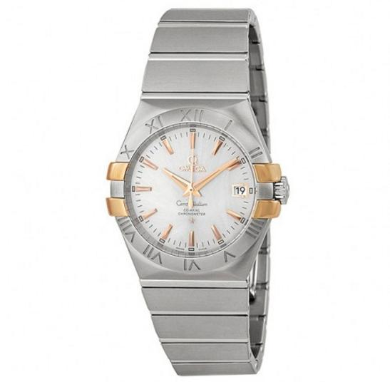 OMEGA Constellation Co-Axial Silver Dial Stainless Steel 35 mm Watch