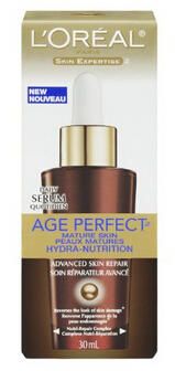L'Oreal Paris Age Perfect Hydra-Nutrition Advanced Skin Repair Daily Serum, 1.0 Fluid Ounce