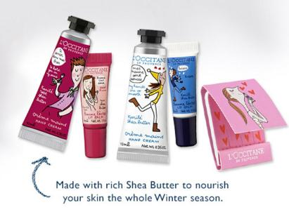FREE 5-Piece Shea Collection with $55 Purchase @ L'Occitane