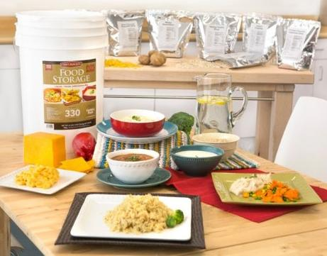 $99.99 Chef's Banquet All-purpose Readiness Kit 1 Month Food Storage Supply (330 Servings)