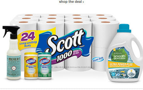 $15 Off $50 Household Essentials.@Target