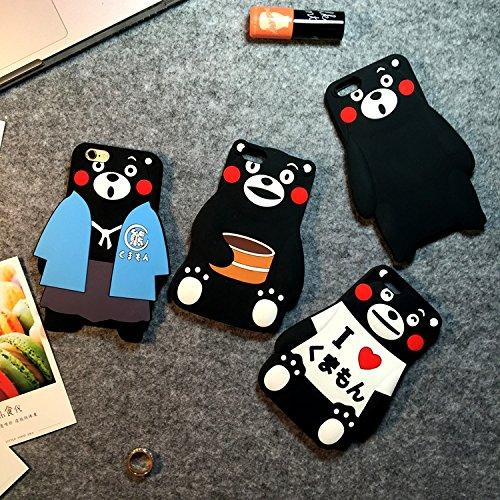 Japanese Kumamon Bear Soft Silicone iPhone 6S Plus Case