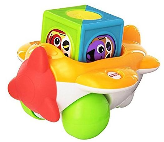 Fisher-Price Roller Blocks Airplane @ Amazon