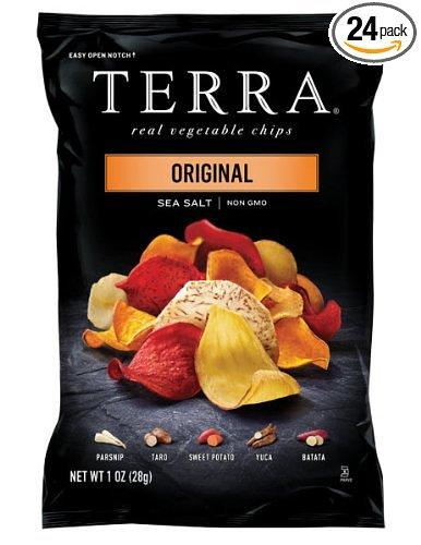 $14.82 TERRA Original, Sea Salt, 1 Ounce (Pack of 24)