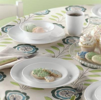 #1 Best Seller! $26.99 Corelle Livingware 16-Piece Dinnerware Set, Winter Frost White, Service for 4