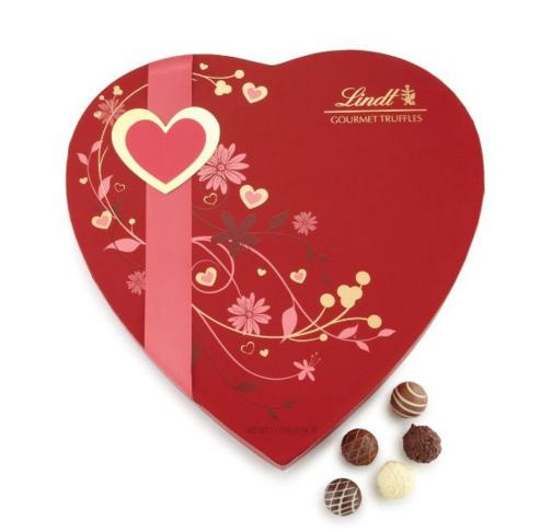 $26.99 Lindt Chocolate Valentine Gourmet Truffles Passion Heart Set, 11.7 Ounce