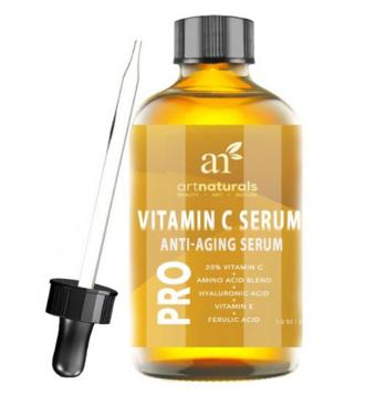 ArtNaturals Enhanced Vitamin C Serum with Hyaluronic Acid 1 Oz @ Amazon