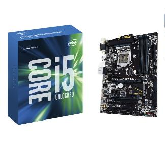 $269.99 Intel i5-6600K 3.5GHz Quad-Core Processor + Gigabyte GA-Z170-HD3P Motherboard