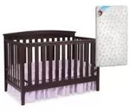 From $134.98 Delta Children's Products (Your Choice Crib and Finish) with Bonus Mattress