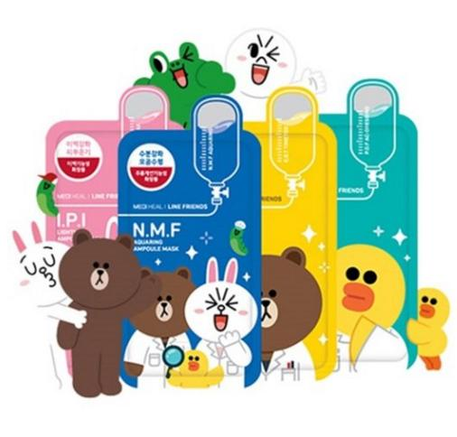 $19.8 Line Friends I.P.I Lightmax Ampoule Face Mask X 10pcs
