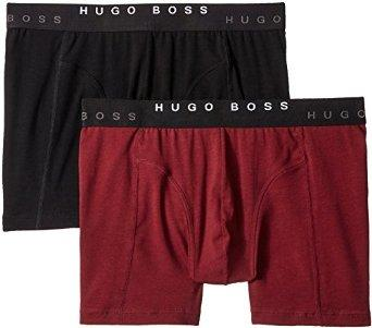 BOSS HUGO BOSS Men's 2-Pack Cyclist Trunk