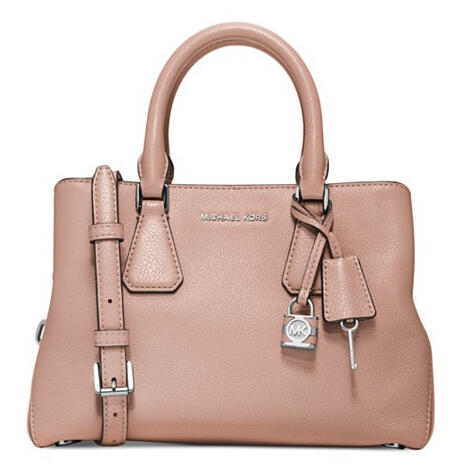 Up to 45% Off Select MICHAEL Micahel Kors Handbags in Ballet @ macys.com