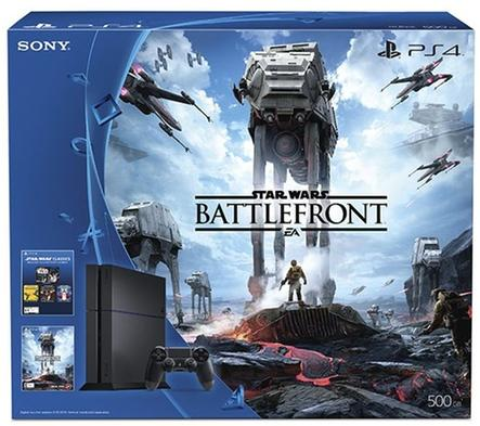PlayStation 4 500GB Star Wars: Battlefront Bundle