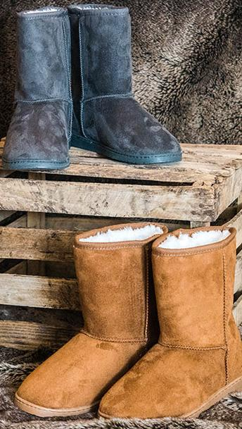 Women's and Kids' Microfiber Boots @Dawgs
