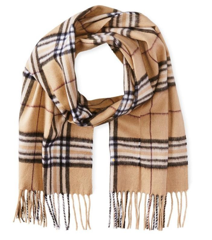 $41.66 Phenix Cashmere Men's Tartan Plaid Scarf