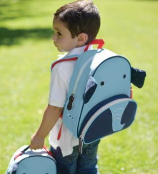 Skip Hop Zoo Pack Little Kid Backpack, Elephant @ Amazon
