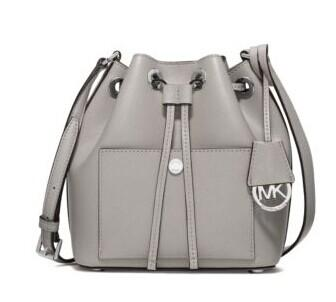 Greenwich Small Saffiano Leather Bucket Bag @ Michael Kors