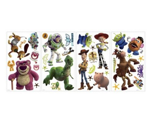 $7.31 RoomMates RMK1428SCS Toy Story Peel & Stick Wall Decals Glo-in Dark, 34 Count