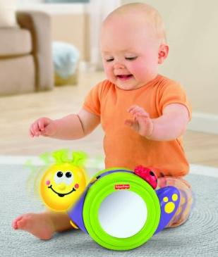 Fisher-Price Go Baby Go! 1-2-3 Crawl Along Snail @ Amazon