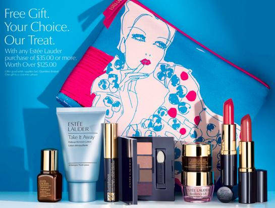 Free 7 Pc Gift Set($125 Value)With $35 Estee Lauder Purchase @ Boscovs