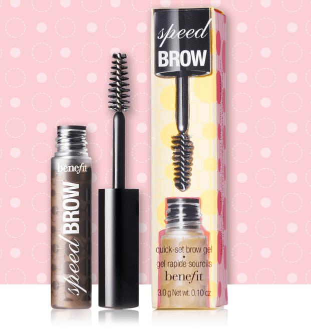 speed brow quick-set gel @ Benefit Cosmetics