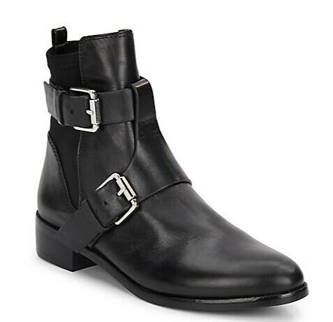 Vince Camuto Signature Machiko Leather Ankle Boots @ Saks Off 5th