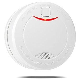 Etekcity Battery-operated Smoke Detector & Fire Alarm with Photoelectric Sensor
