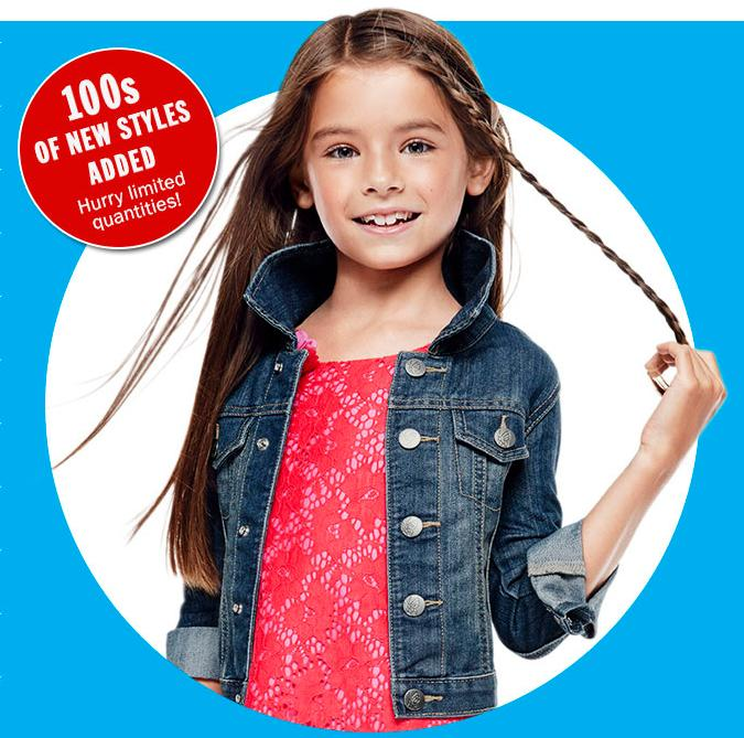 Free Shipping + Up to 80% Off Clearance Items @ Children's Place