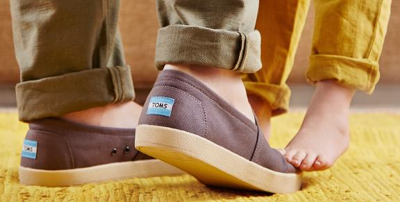 Up to 40% OffToms Shoes and Accessories On Sale @ Zulily.com