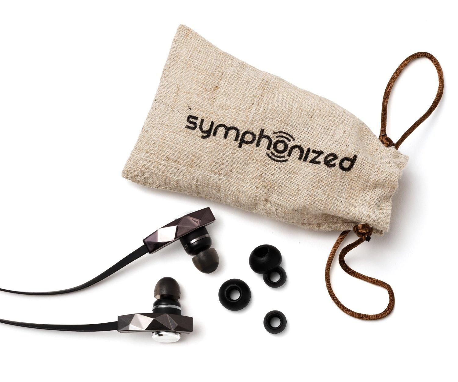 Symphonized PRO Premium In-ear Noise-isolating Earphones|Earbuds|Headphones with Flat Cable and Microphone