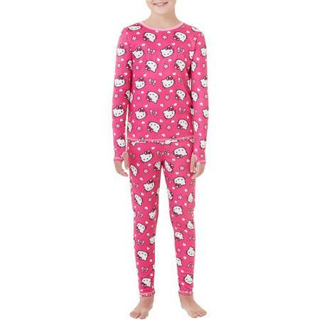 Select ClimateRight by Cuddl Duds Girls' Fleece Sets