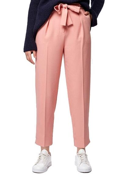 Topshop Crepe Peg Trousers @ Nordstrom