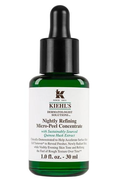 New Release Kiehl's launched new Dermatologist Solutions Nightly Refining Micro-Peel Concentrate